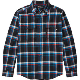 Marmot Tromso Midweight Camisa Franela Manga Larga Hombre, azul